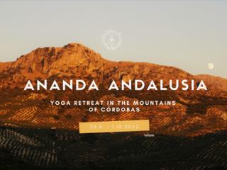 Ananda Andalusia Yoga Retreat in den Bergen Andalusiens, Spanien
